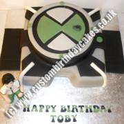 Ben 10 Omnitrix Watch Cake