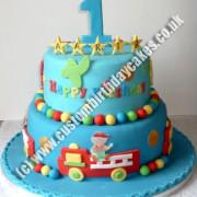 Fire Engine & Plane Cake