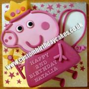 Pig Fairy Cake