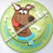 Cartoon Dog Cake