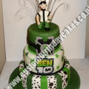 Ben 10 Cake 3 Tier