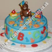 Alphabet Letter Number Cake