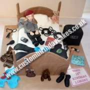 Messy Bed & Bedroom Cake