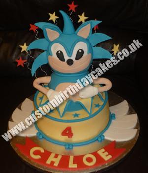 Sonic The Hedgehog Birthday Cake Uk