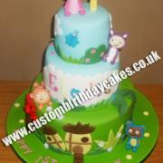 3 Tiered Waybuloo Cake