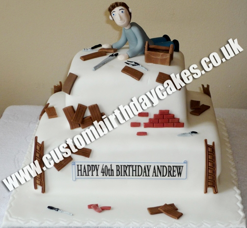 Men Women Custom Birthday Cakes Surrey
