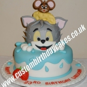 Cat and Mouse Cake