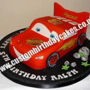 Boy Car Cake