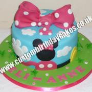 Girl Bow Cake