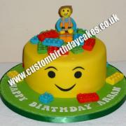 Toy Bricks Cake