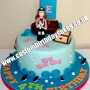 Pirate Girl Cake