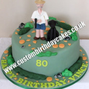 Clay Shooting Cake