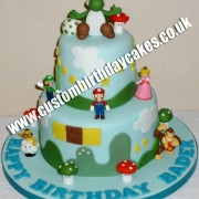 Computer Game Cake