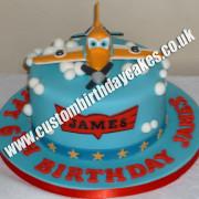 Toy Plane Cake