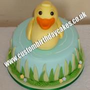 Duck Themed Cake