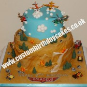 Plane Themed Cake