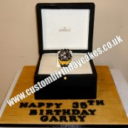 Watch in Box Cake
