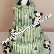 Panda Bamboo Cake