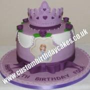 Princess and Tiara Cake